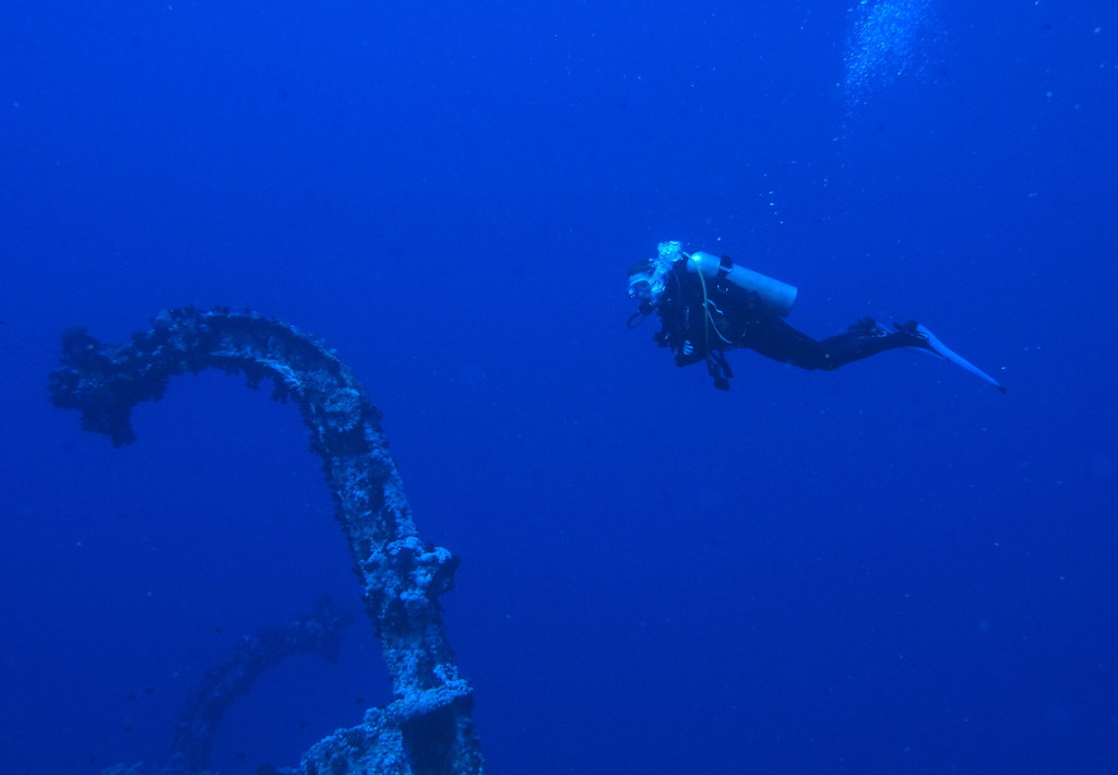 Aida II wreck at Big Brother Island, Red Sea, Egypt #SCUBA