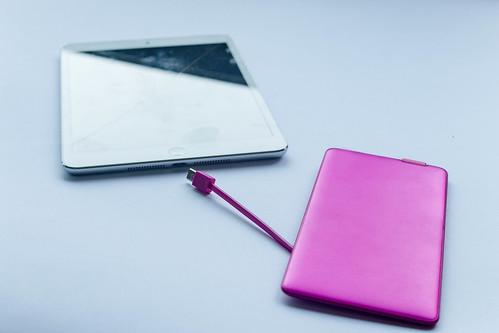 Tablet und Powerbar | by wuestenigel