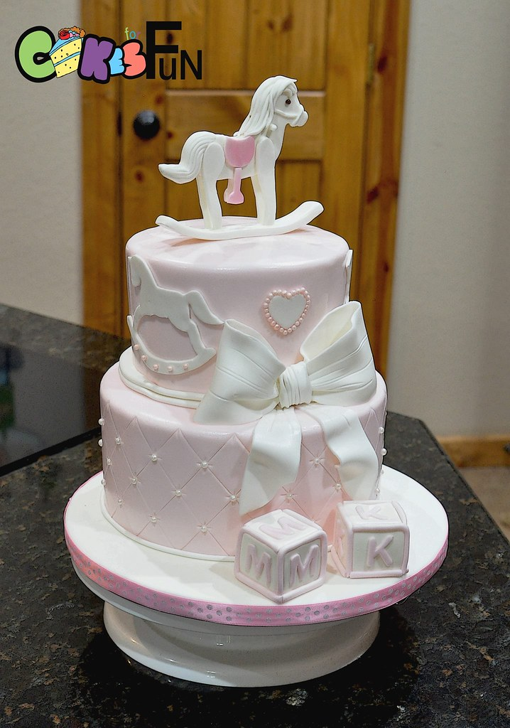 Incredible Rocking Horse First Birthday Cake Bsheridan1959 Flickr Birthday Cards Printable Giouspongecafe Filternl