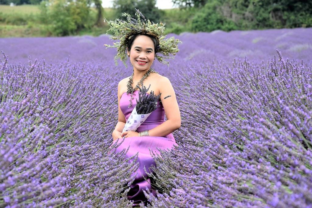 Lady in Lavender.