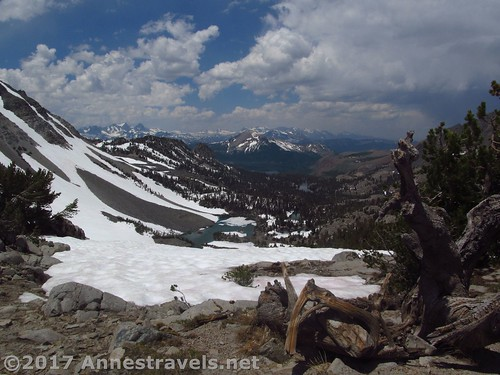 Views from Duck Pass, Inyo National Forest, California
