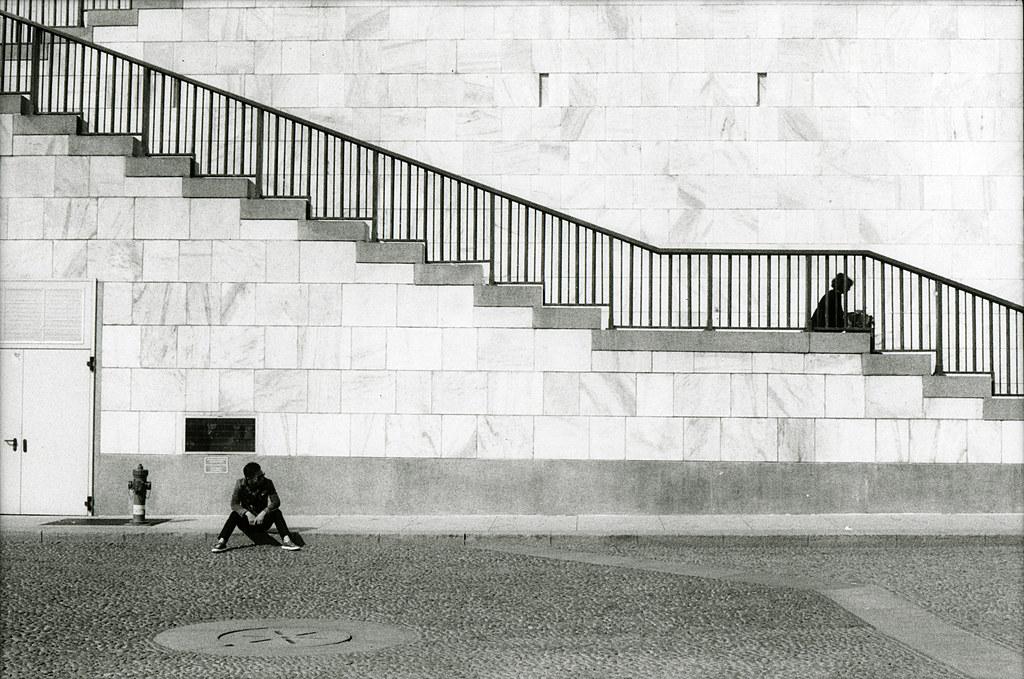 Museo Del 900 Milano.Milano Museo Del Novecento Leica R4 50mm Ilford Hp5 Flickr