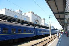 Dnipro Holovny train station