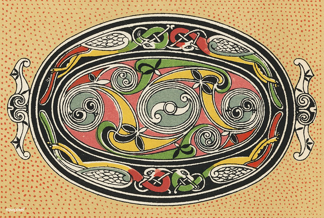 Free Download: Illustration from The Grammar of Ornament (1910) by Owen Jones