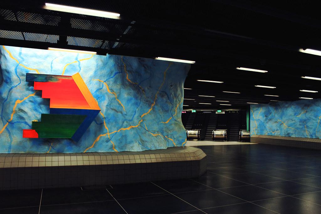 Stockholm's Stadion station