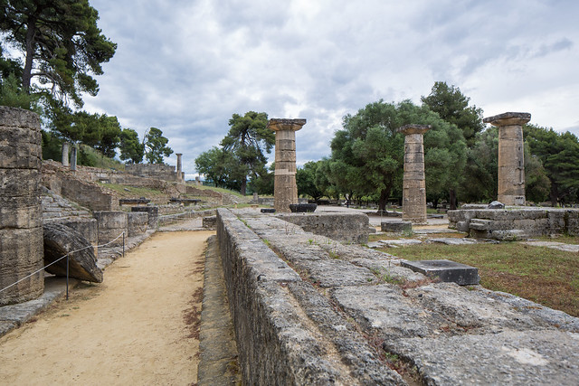 Ancient Olympia - The Heraion