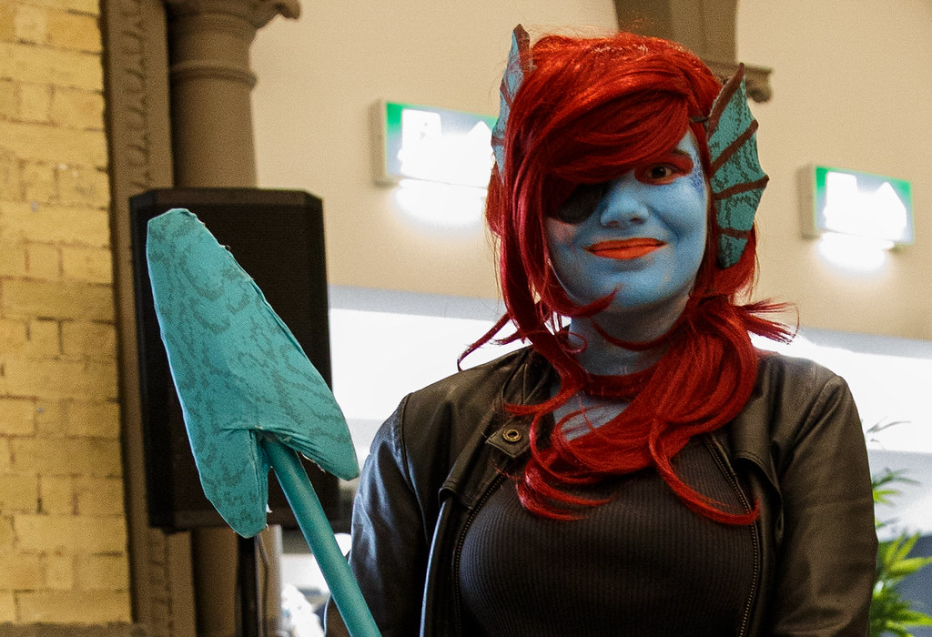 UnDyne the Undying Fish - UnderTale   UnDyne the Undying Fis