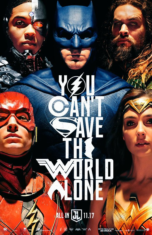 New Justice League Poster Released!