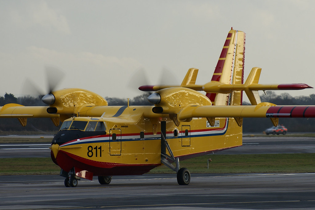 C-GCUH | Canadair CL-415 | Bombardier Inc
