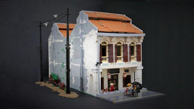 Typical Kuala Lumpur Heritage House