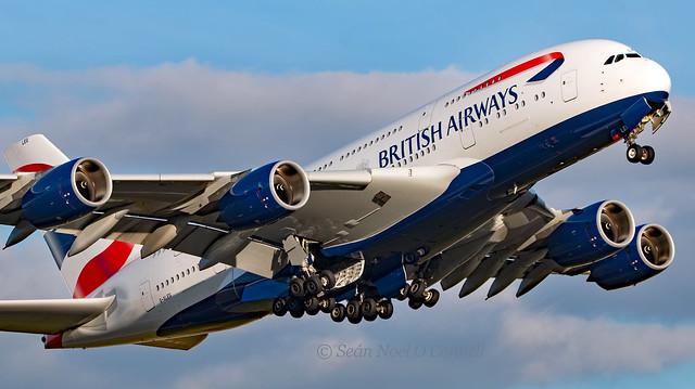 G-XLEG - Airbus A380-841 - LHR