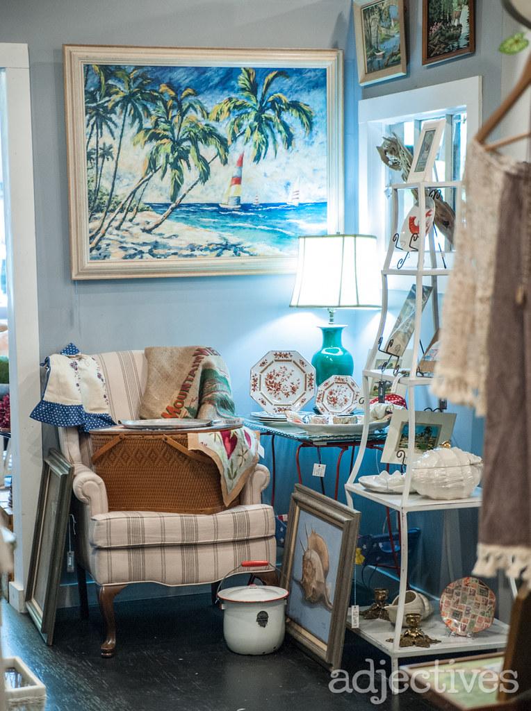 Bluebird Mercantile in Adjectives Winter Garden