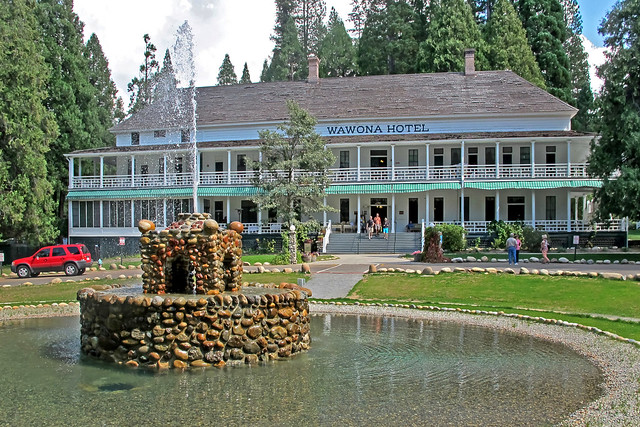 Wawona Hotel-Yosemite National Park-California