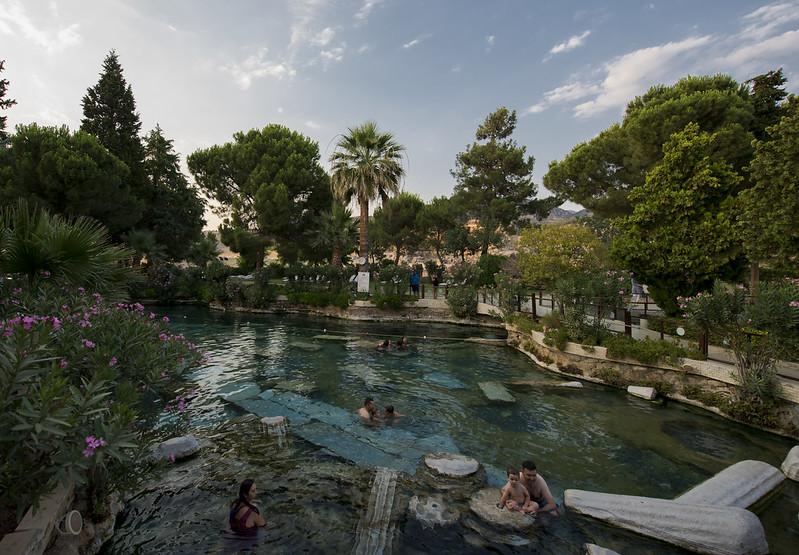 Antik havuz Pamukkale