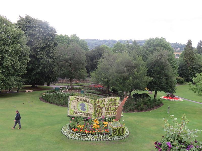 Parade Gardens Bath.