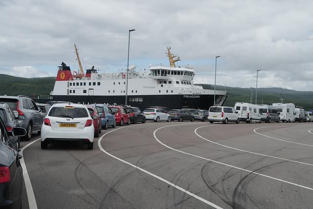 Kennacriag ferry terminal & MV Finlaggan