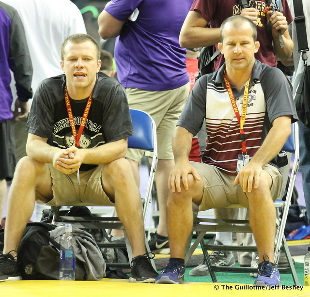 Coaches Tony Valek and Brandon Paulson - 170717AJF0012