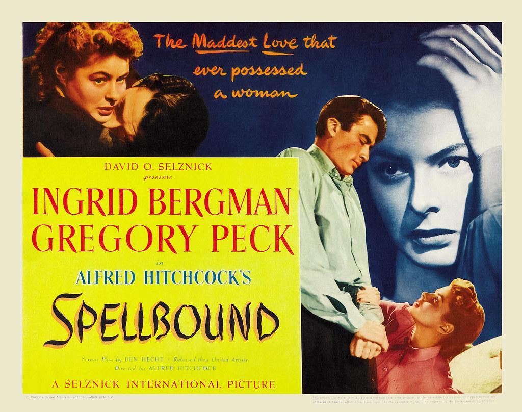 Image result for spellbound 1945