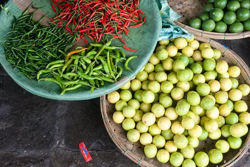 Hot Peppers (Chili) in Vietnam   by wuestenigel