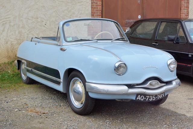 Panhard, cabriolet Dyna Z (France, 1954 - 1959)