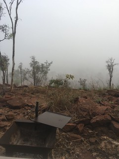 Early morning fog sits over the valley at Ngukurr #outback #northern #territory | by chanceboondock