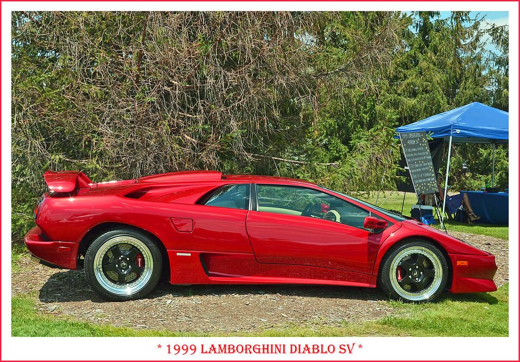 1999 Lamborghini Diablo Sv Sv For Super Fast The July Flickr