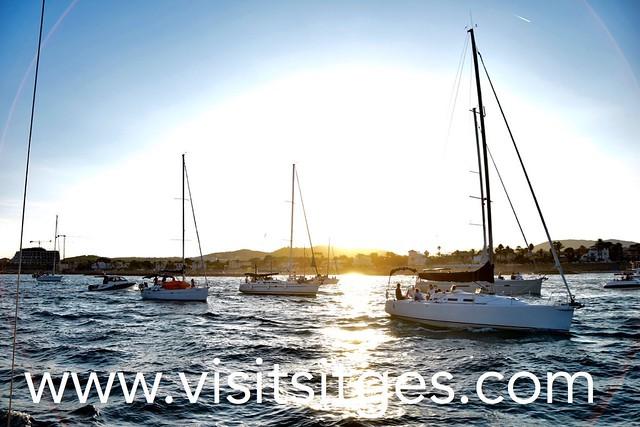 Processó de les Barques per la Verge del Carme Sitges 2017