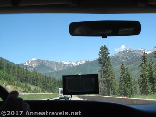 Driving I-70 through Colorado