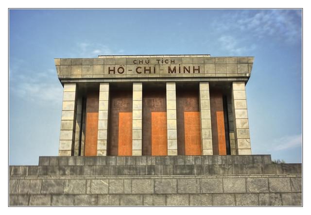 Hanoi VN - Ho Chi Minh Mausoleum 03