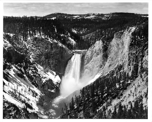 Yellowstone Falls Print 8x10