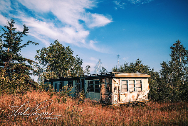 Deserted Trailer on the Reservation