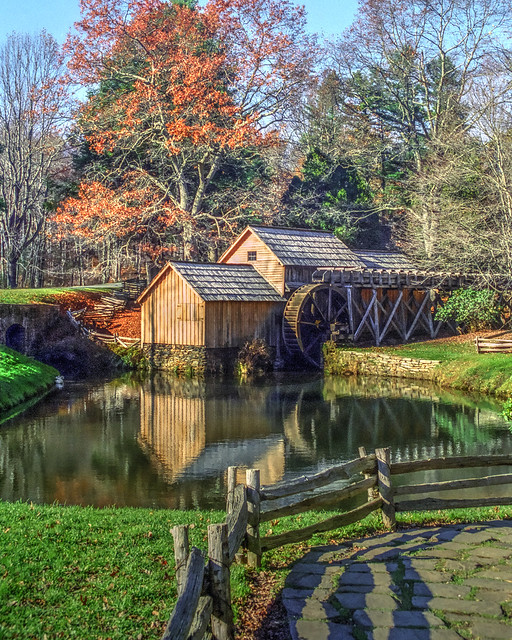 Mabry Mill-Blue Ridge Parkway National Park-Virginia 01962