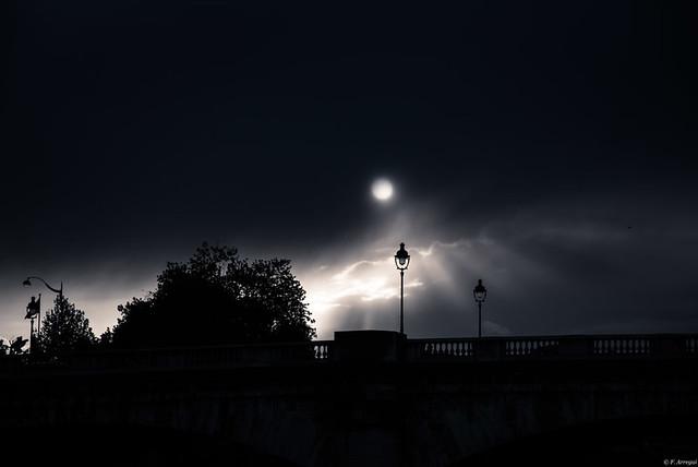 Sobre el puente..