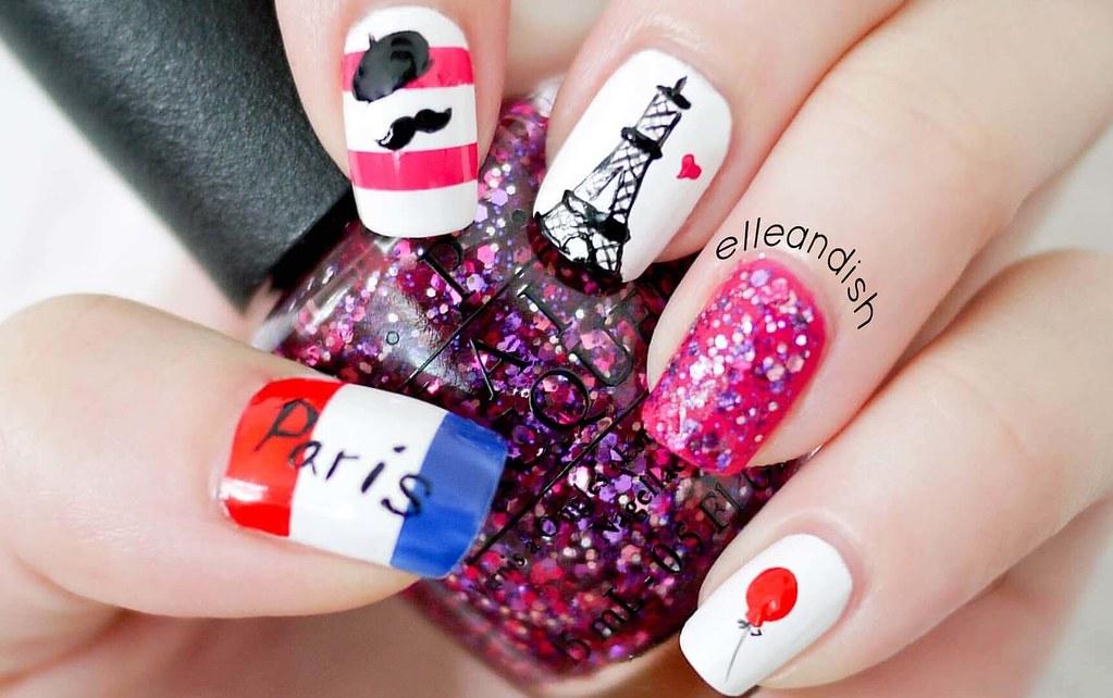 Uñas Decoradas Al Estilo Parisino Super Facil París Y El R