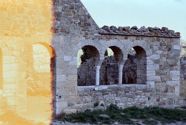 Sant'Antimo - resti della sala capitolare