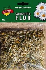 Chá em Cartela Portão - Camomila