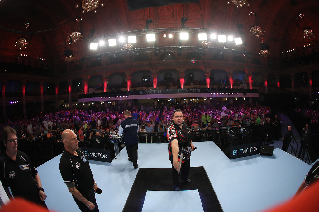 Darts Bet Victor World Matchplay 2017 Winter Gardens Bla
