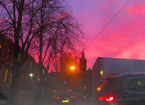 Glasgow University sky | by NomadWarMachine