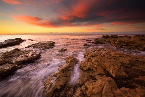 australia newsouthwales swanseaheads chalkybeach nikond750 nikon1635mmf4 seascape sunrise