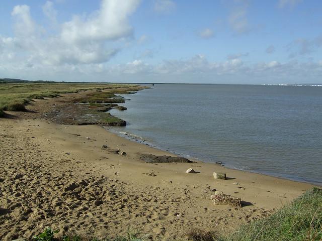 Salt marsh west of Allhallows-on-Sea