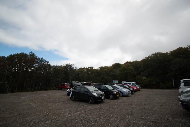 樽前山登山口駐車場