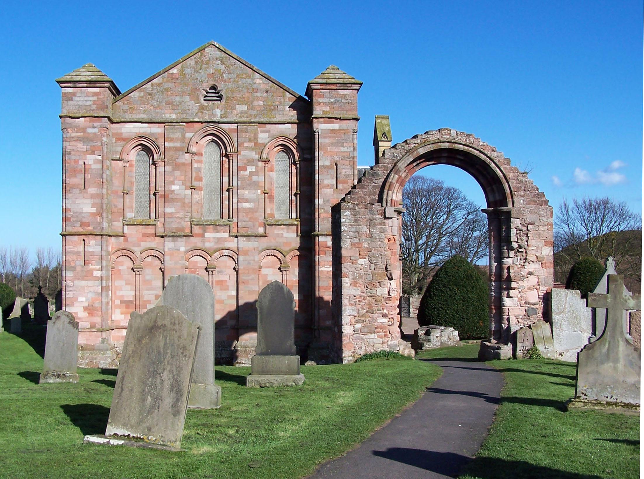 Berwickshire, COLDINGHAM, Coldingham Priory