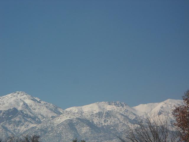Vista de Los Andes/View of The Andes, Vitacura, Santiago de Chile - www.meEncantaViajar.com