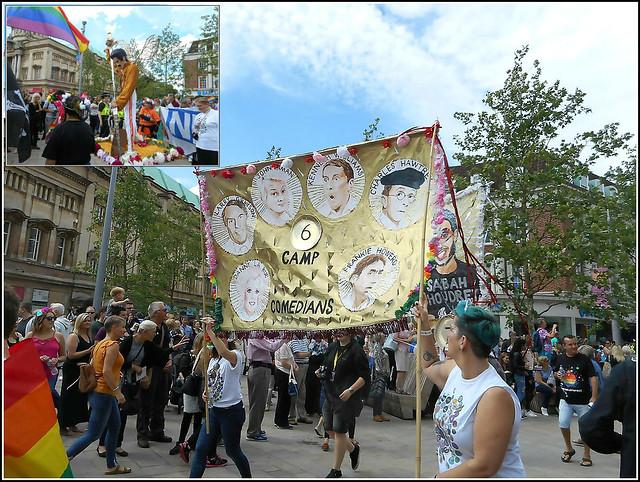 Hull Pride Parade in Hull City Centre.