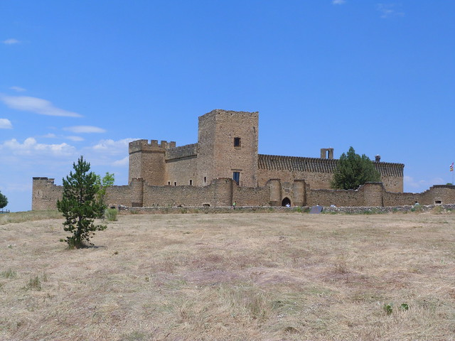 Castillo medieval de Pedraza (Segovia)