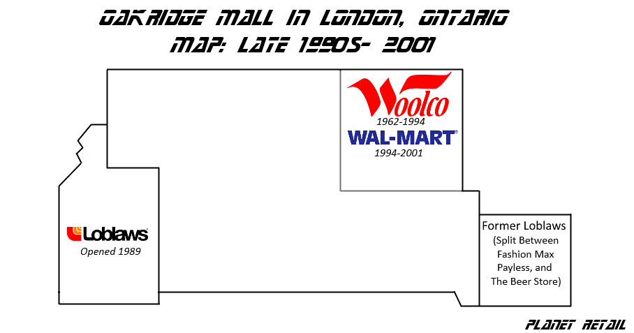 The Mall London Map.Oakridge Mall London On Map This Is A Map I Created Based Flickr