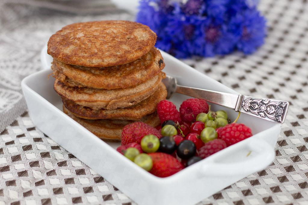 68d6cbe3757 Chestnut and buckwheat pancakes (gluten-free, vegan). Glut… | Flickr