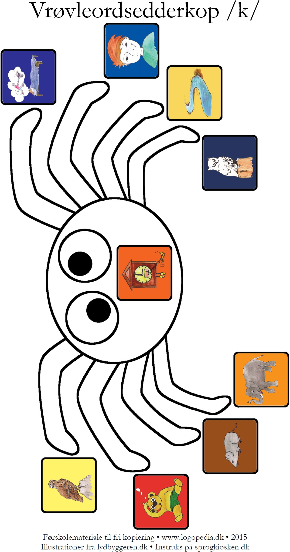 k-edderkop