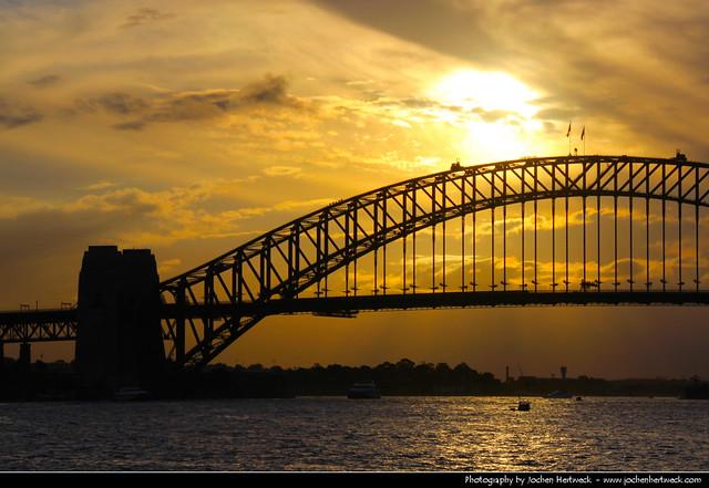 Sydney Harbour Bridge @ Sunset, Australia