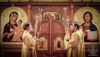 Литургия в Спасском соборе 150